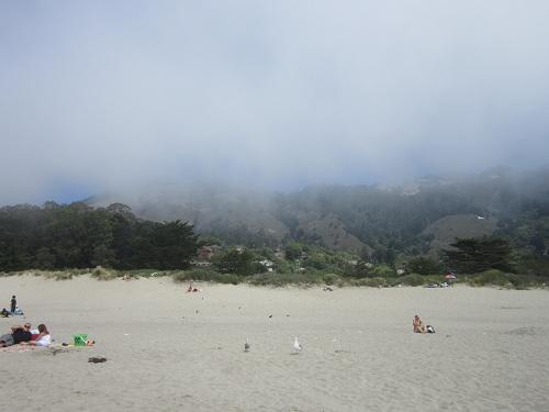 Stinson Beach, Pacific Coast beach town California