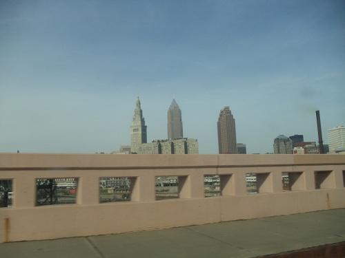 Cleveland, Ohio skyline - Hope Memorial Bridge