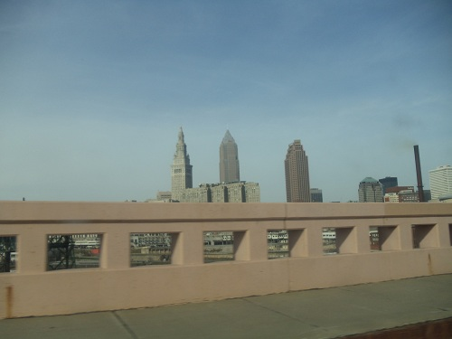 Cleveland, Ohio skyline - Hope Memorial Bridge