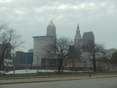 Cleveland, Ohio skyline - Ohio City neighborhood