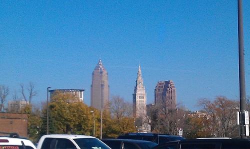 Cleveland, Ohio skyline - West Side Market