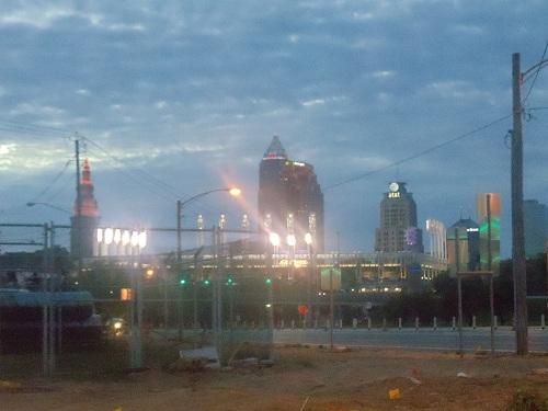 Cleveland, Ohio skyline - Progressive Field