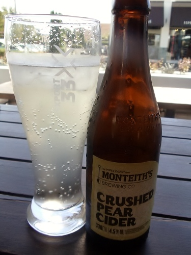 Monteith's Pear Cider, New Zealand beer