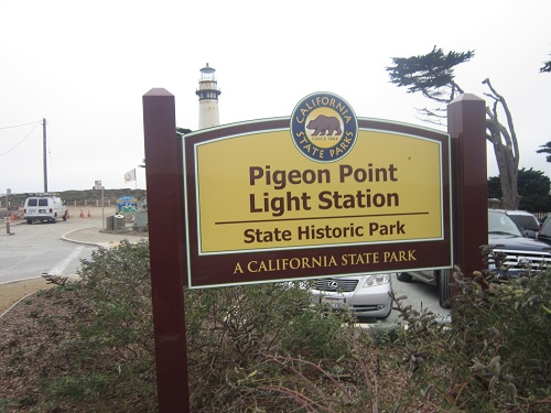 Pigeon Point, PCH, California state park