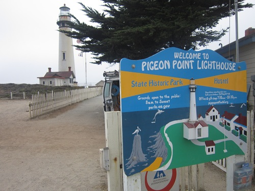 Pigeon Point, PCH, California lighthouse