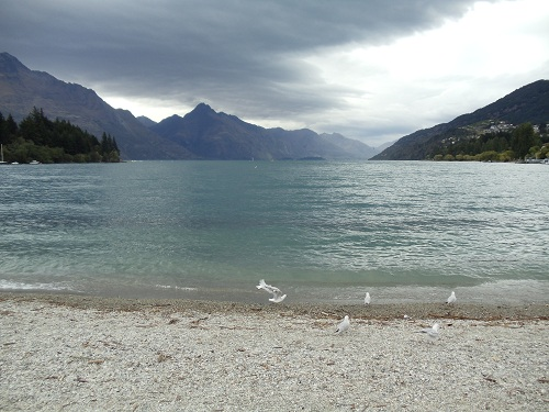 Qyeenstown, New Zealand, Lake Wakatipu