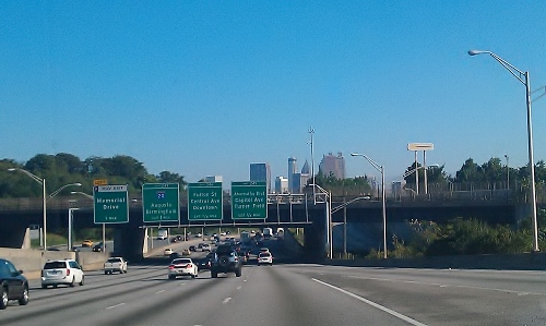 Atlanta - Downtown from the south