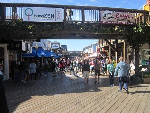 Pier 39, San Francisco, shopping