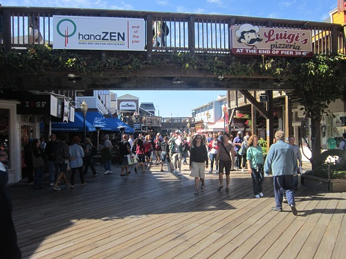 Pier 39, San Francisco, shopping