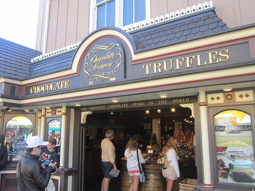 Pier 39, San Francisco, Chocolate Heaven