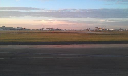 Sunrise, Atlanta airport