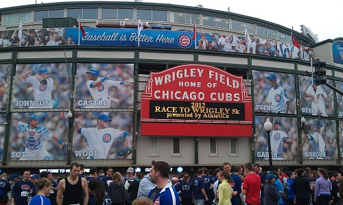 Chicago, Wrigley Field, Wrigleyville