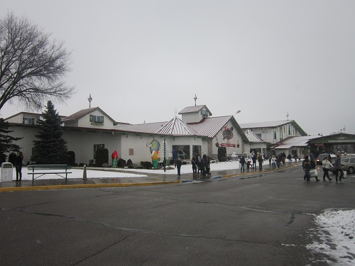 Bronners, The World's Largest Christmas Store, Frankenmuth, Michigan