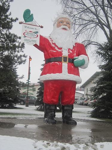 Bronners, Christmas Store, Frankenmuth, Michigan, Santa Claus
