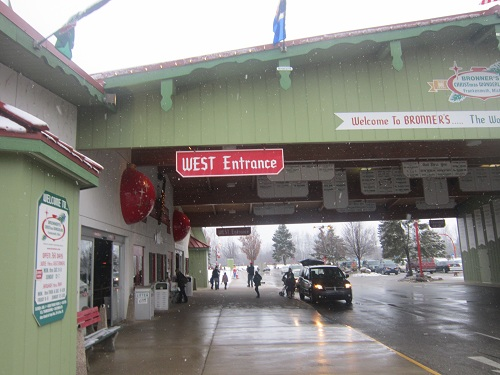 Bronners, Christmas Store, Frankenmuth, Michigan