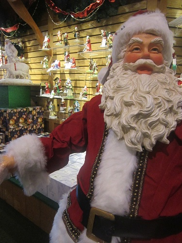 Bronners, Christmas Store, Frankenmuth, Michigan, Santa Claus