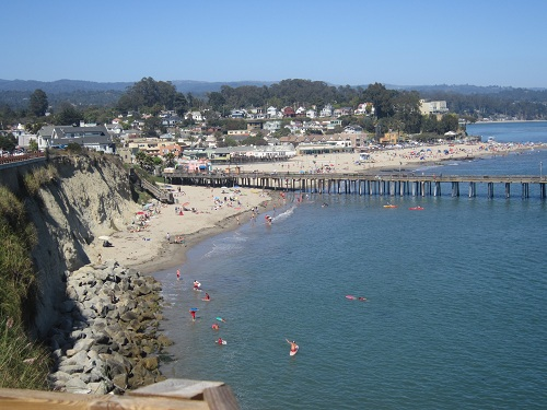 Capitola Beach, California, PCH