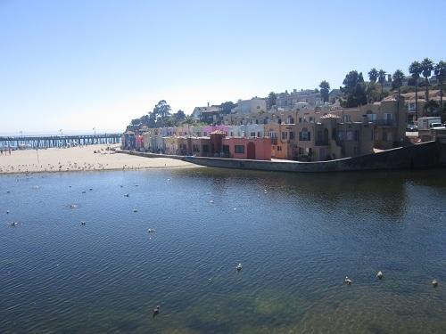 Capitola, California, Mediterranean housing, beach town