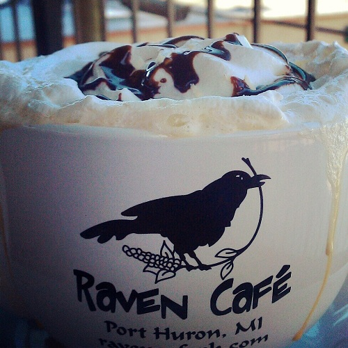 Raven Cafe, Port Huron, Michigan