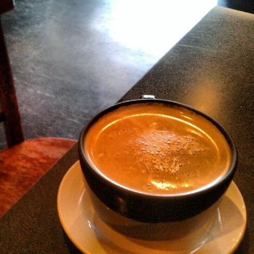 Extra espresso and caffeine at Espresso Milano, Midland, Michigan