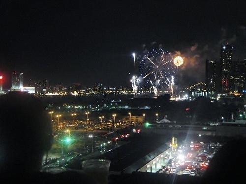 Detroit, Michigan fireworks