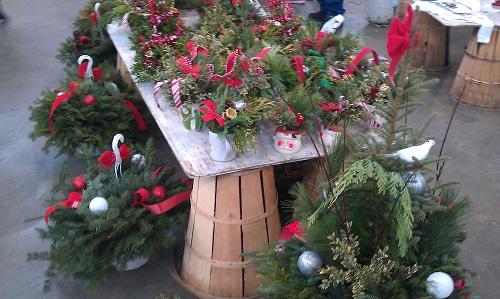Detroit, Michigan Eastern Market - holiday season