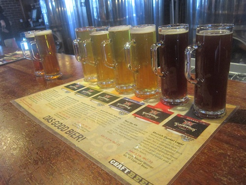 Frankenmuth Brewery, Michigan beer