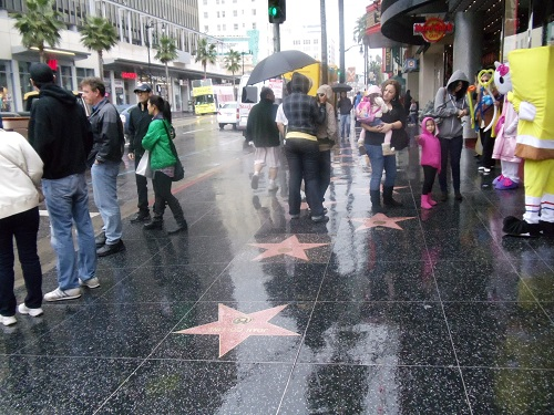 Hollywood Walk of Fame, Los Angeles, California