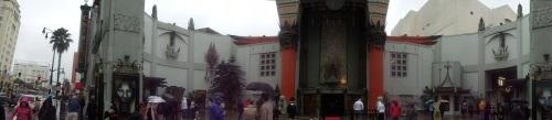 Grauman's Chinese Theatre, Hollywood, Los Angeles, California, panoramic shot
