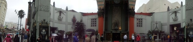 Grauman's Chinese Theatre, Hollywood, Los Angeles, California, panoramic shot