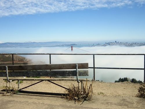 Marin Headlands, California, San Francisco Bay