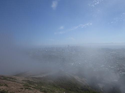 San Francisco, Twin Peaks, California, fog