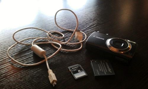 Canon camera, travel