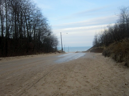 Muskegon, Michigan, Lake Michgan, Beachwood Park trail