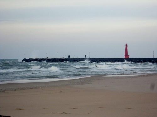 Muskegon, Michigan, Lake Michgan, beach