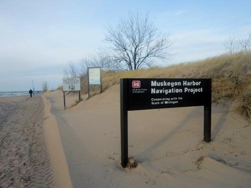 Muskegon, Michigan, Lake Michgan, Pere Marquette Park