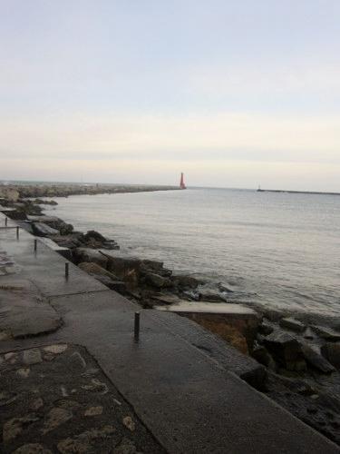 Muskegon, Michigan, Lake Michgan, pier, lighthouse