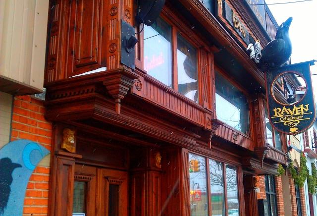 Raven Cafe, Port Huron, Michigan