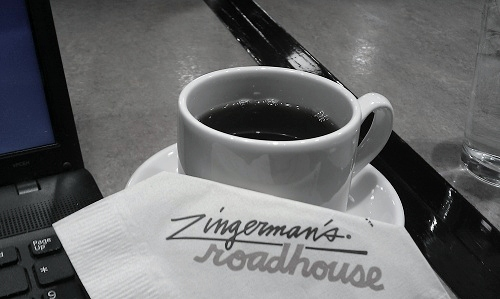 Zingerman's Roadhouse, Ann Arbor, Michigan, Roadhouse Joe coffee