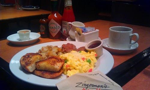 Zingerman's Roadhouse, Ann Arbor, Michigan, breakfast