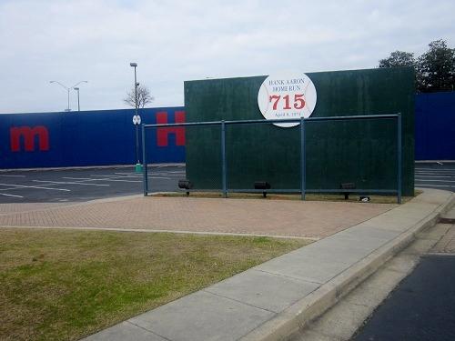 Atlanta Fulton County Stadium, Braves history, Hank Aaron 715