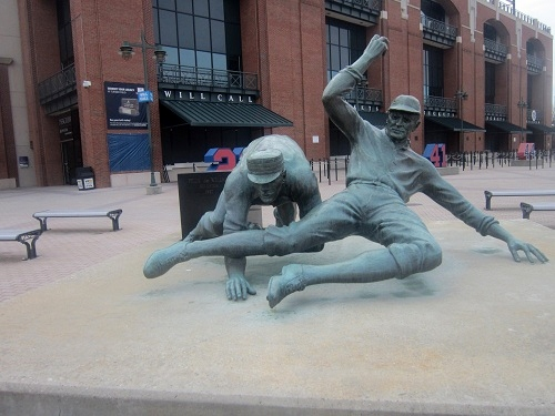 Atlanta Turner Field, Ty Cobb statue