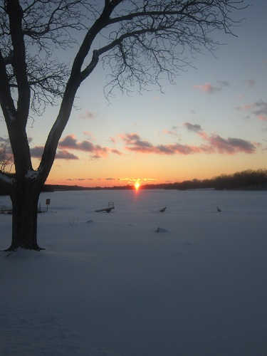 Michigan sunset, Kensington Metropark, Milford