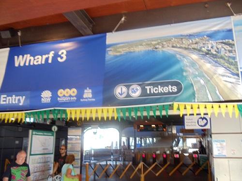 Sydney Cove, Australia, Manly Bay ferry