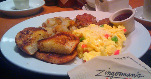 The American Breakfast at Zingerman's in Ann Arbor, Michigan