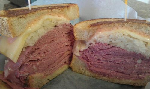 Triple Threat Corned Beef, Maize and Blue Delicatessen, Ann Arbor, Michigan