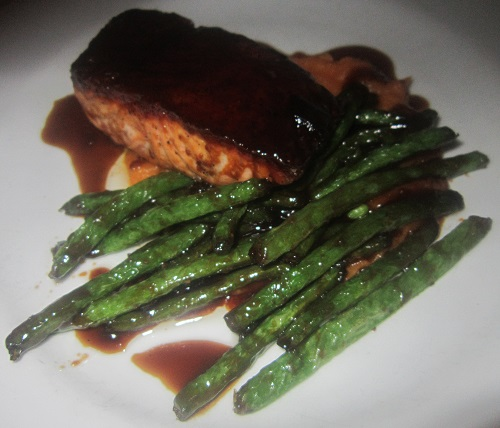 Faroe Island Salmon, Blue Point Grille, Cleveland