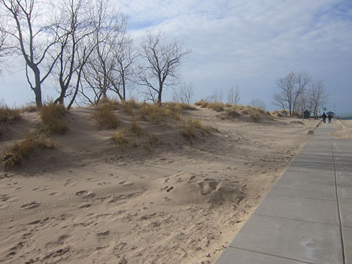 Holland, Michigan, Holland State Park beach, Lake Michigan