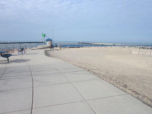 Holland, Michigan, Holland State Park beach, Lake Michigan