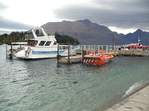 Lake Wakatipu, Queenstown, New Zealand